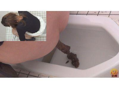 盗覗4カメトイレ みまもるウンコ